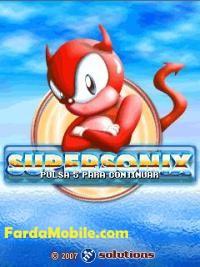بازی موبایل SuperSonix